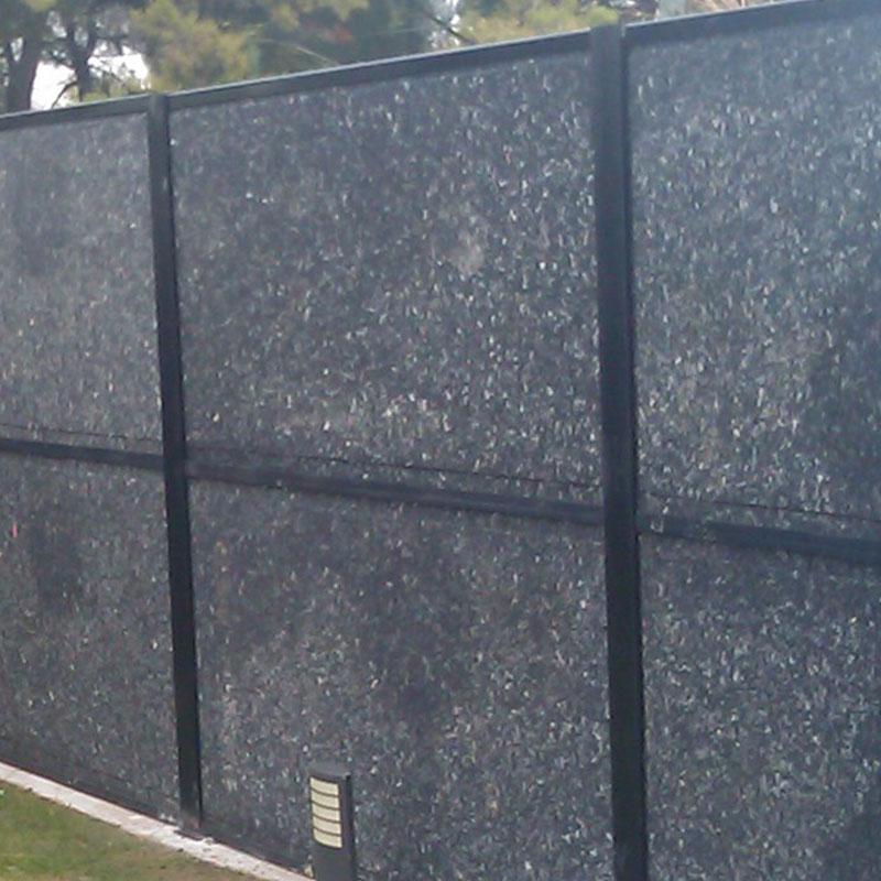 vallados de protección acústica