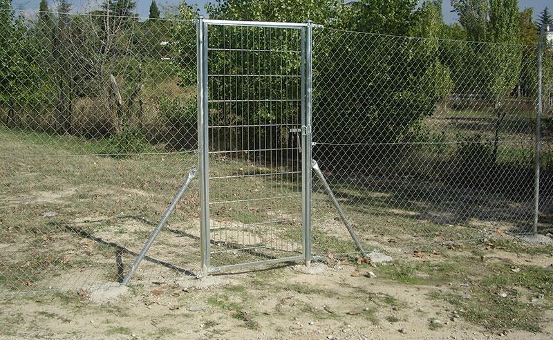 puertas para vallas