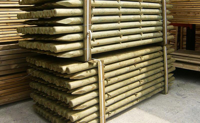 vallas eco de madera