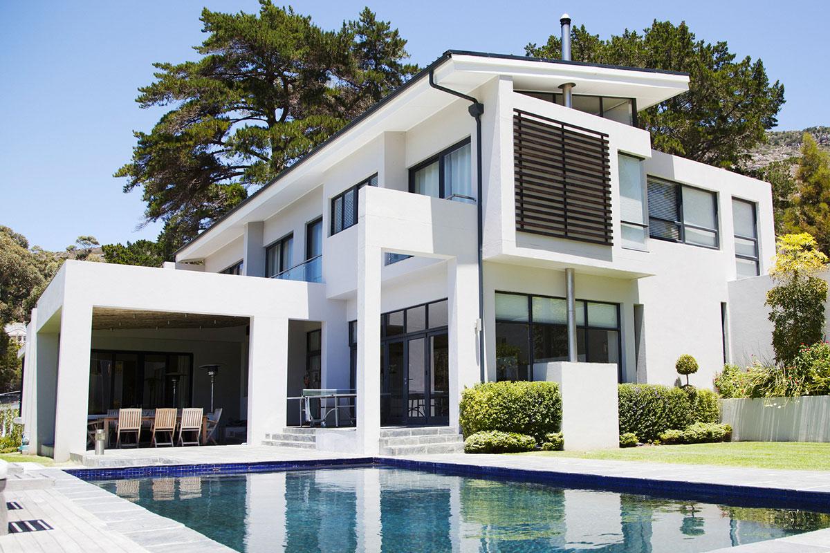 vallas en viviendas independientes