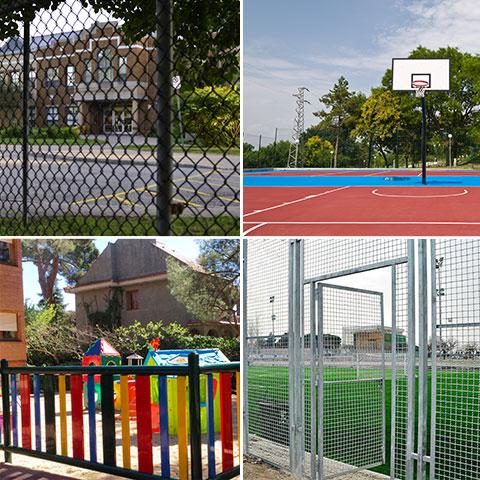 proteccion y delimitacion de zonas con vallas